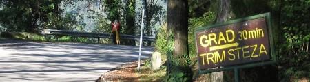Razširitev lokalne ceste Tolmin - Dolje