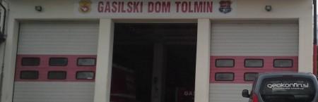 Zakoličenje objekta PGD Tolmin