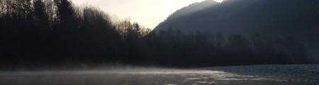 Geodetske meritve na reki Soči